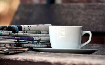 El periódico y la mudanza